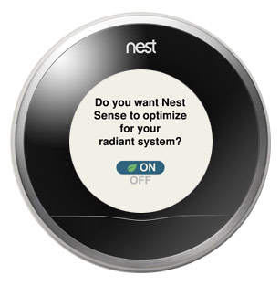 Nest Learning Thermostat True Radiant