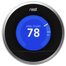 Nest Learning Thermostat Cool To Dry