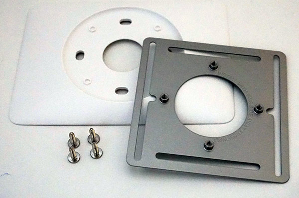 Nest 3rd Generation Thermostat - Rear Mounting Plate
