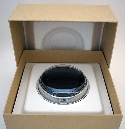 Nest 3rd Generation Thermostat - Box Opened