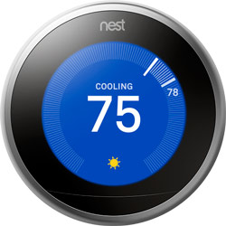 Nest Learning Thermostat Sunblock Feature