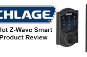 Schlage Connect Touchscreen Smart Z-Wave Deadbolt Lock