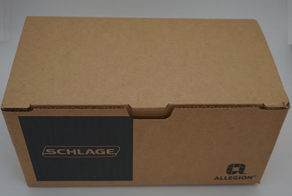 Schlage Z-Wave Touchscreen Door Lock - Box Opened