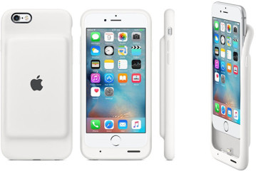 Apple Launches Official iPhone 6S Battery Case To Extend Battery Life