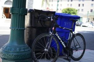The team spare bike (it's more high end than my main bike!)