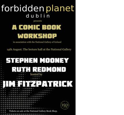 NGI Comic Book Workshop Review