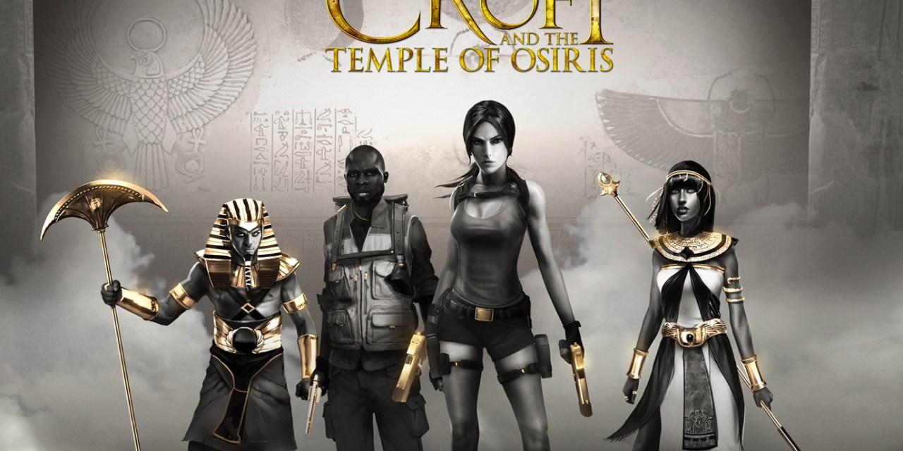 Lara Croft explores the Temple of Osiris
