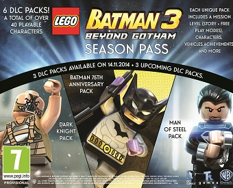 LEGO® Batman™ 3: Beyond Gotham DLC Season Pass Trailer