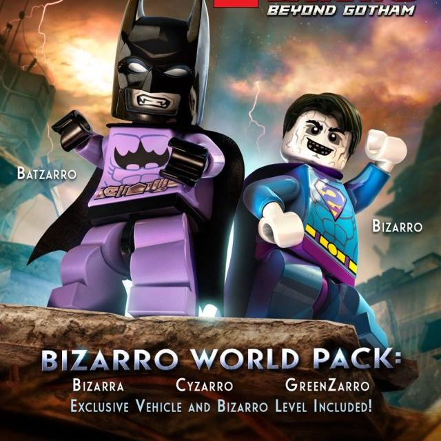 LEGO Batman 3: Beyond Gotham Bizarro World Pack Now Available