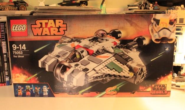 Lego Build: Lego Star Wars – The Ghost