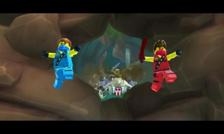 LEGO NINJAGO: SHADOW OF RONIN AVAILABLE FOR NINTENDO 3DS & PLAYSTATION VITA SYSTEM ON FRIDAY 27 MARCH IN THE UK
