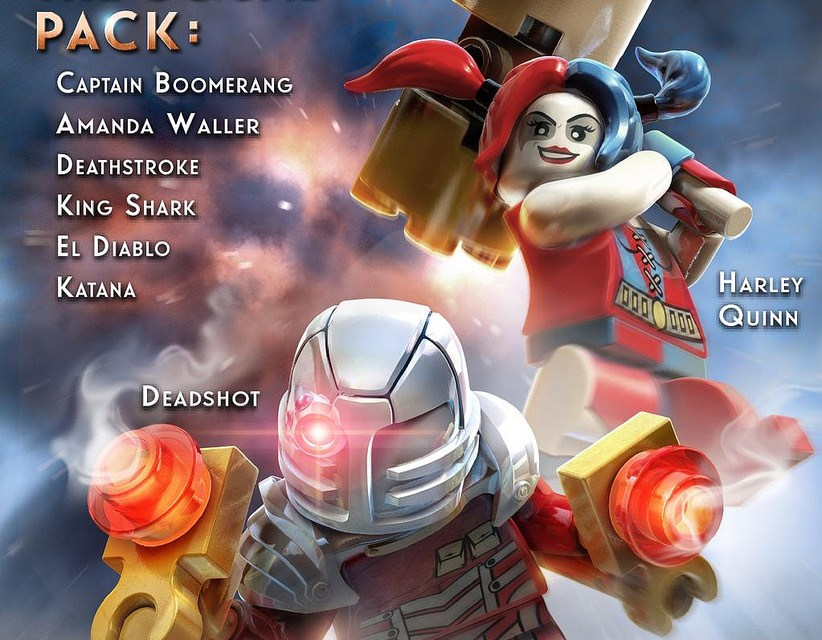 LEGO Batman 3: Beyond Gotham, the Squad Pack Available Tomorrow