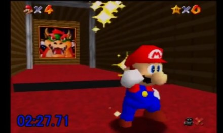 New World Record for Super Mario 64 No Stars Speedrun