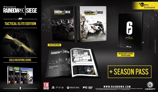 TOM CLANCY'S RAINBOW SIX SIEGE AVAILABLE ON OCTOBER 13th