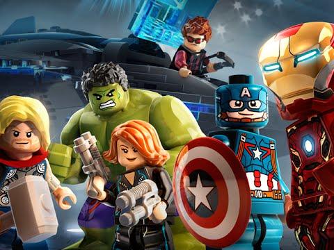 Lego Marvel's Avengers Trailer Drops