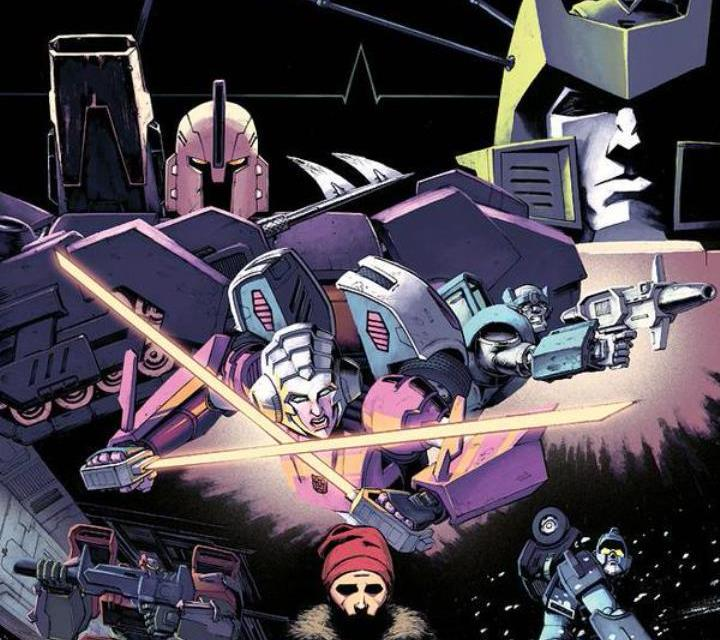 IDW Transformers 'Sins Of The Wreckers'.
