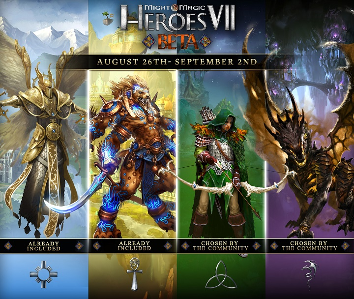 Second Closed Beta Dates Announced For Might & Magic Heroes VII!