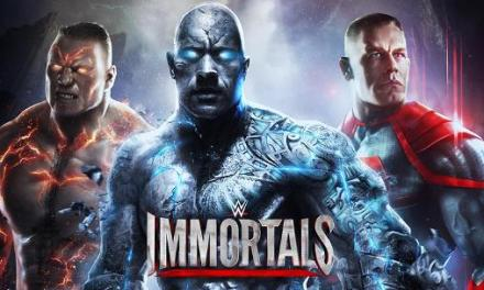 WWE Immortals releases Johnny Cage into the ring!