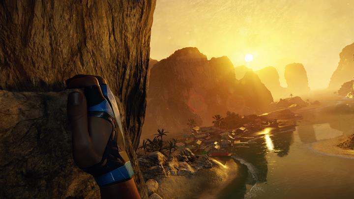 Adrenaline & adventure in Crytek's Oculus Rift Title, The Climb!