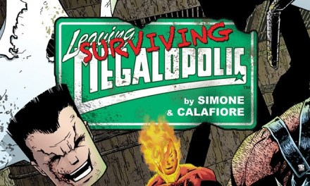 Review: Leaving Megalopolis: Surviving Megalopolis Issue 1
