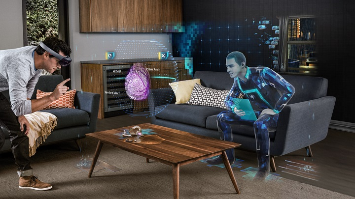 Asobo Studio presents its first holographic games for Microsoft HoloLens Development Edition.
