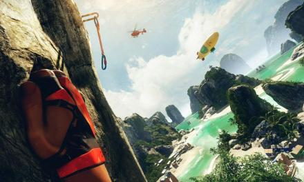 Crytek's debut virtual reality game The Climb is available now from Oculus Home
