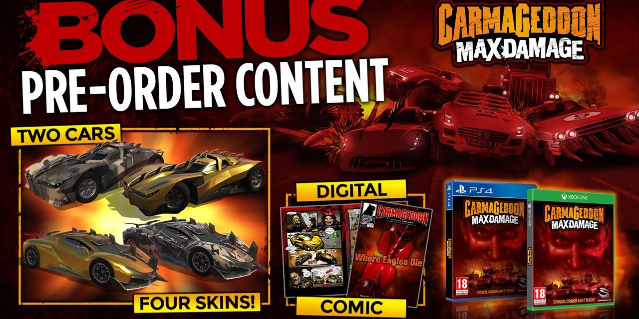 Stainless Games & Sold Out announce release date revision for Carmageddon: Max Damage