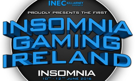 Insomnia Gaming Ireland at the INEC June 10-13 2016 – Saturday Sold Out!