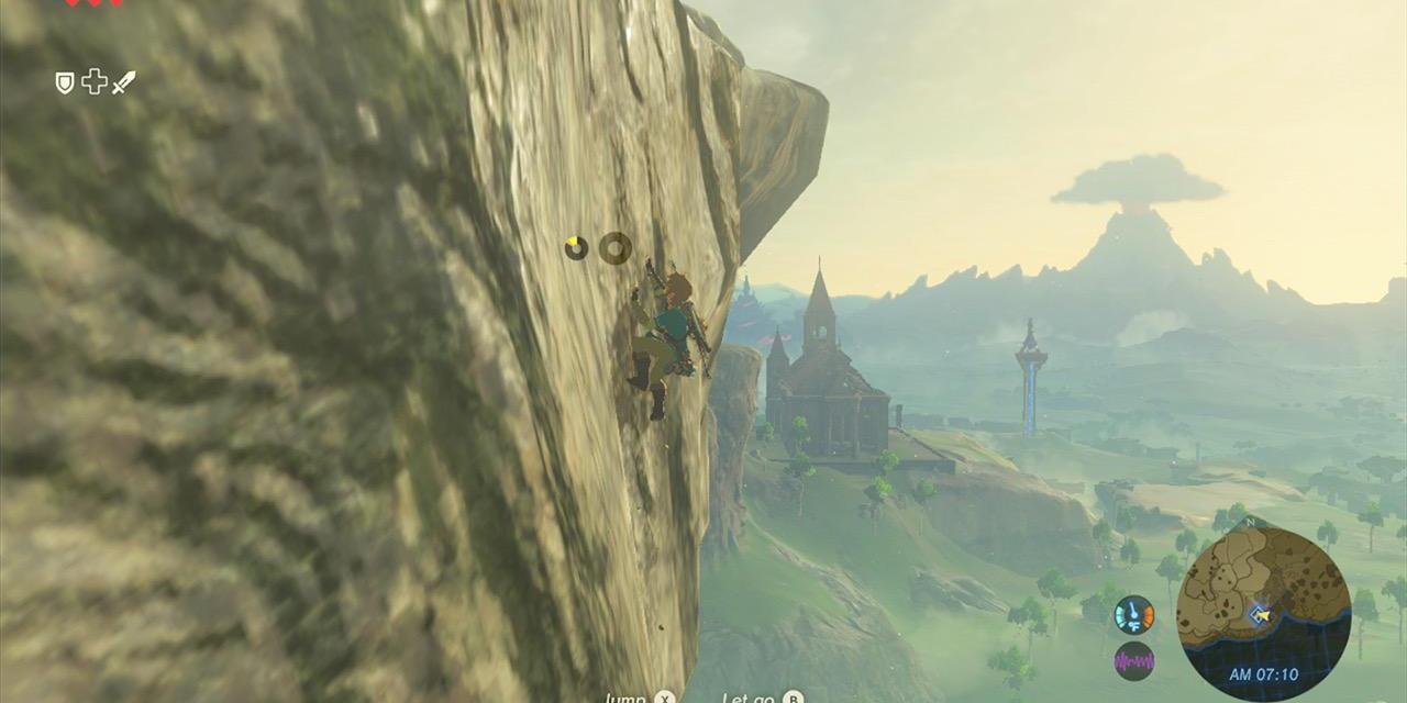 Legend of Zelda: Breath of The Wild Gameplay Trailer