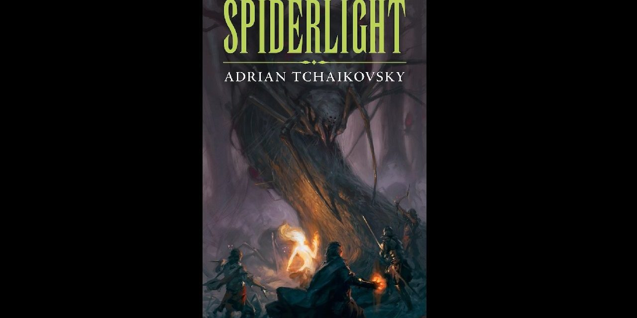 Book Review: Spiderlight by Adrian Tchaikovsky