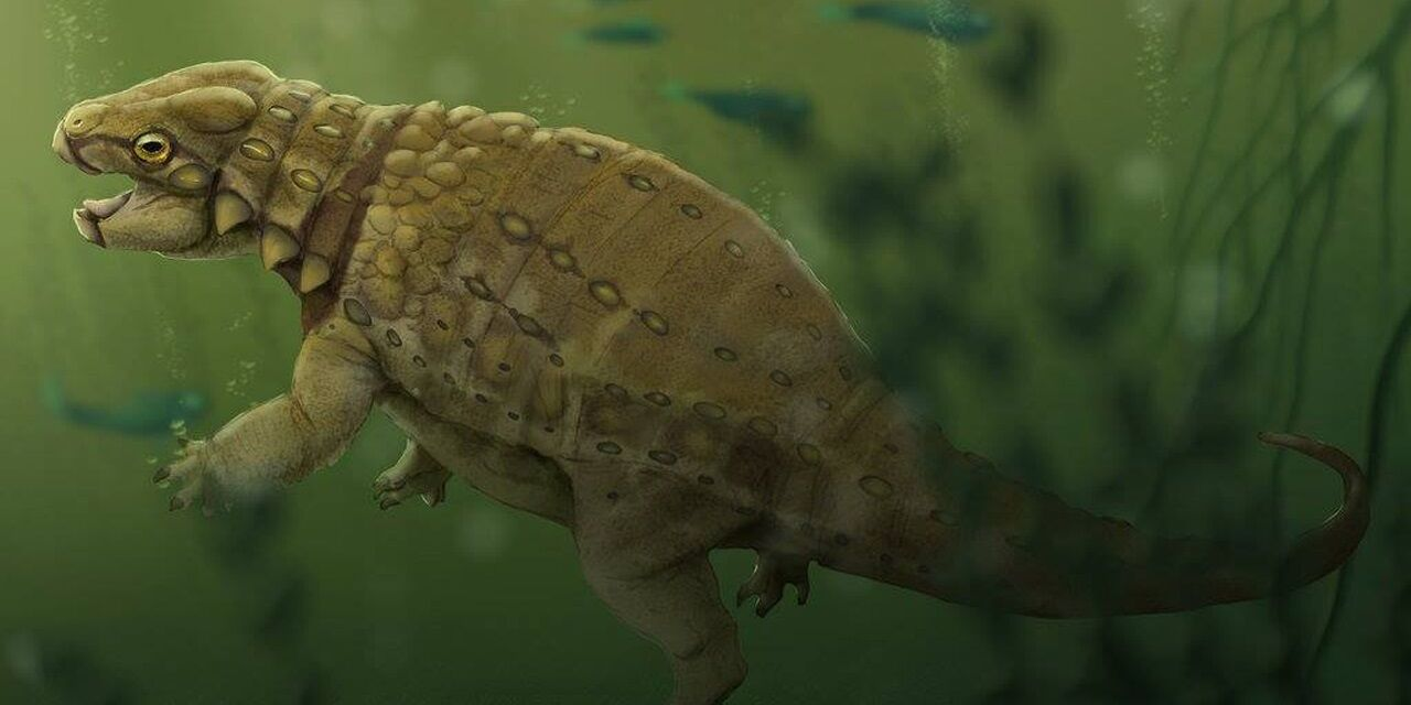 Meet Liaoningosaurus, the (possibly) Fish-Eating Armoured Dinosaur