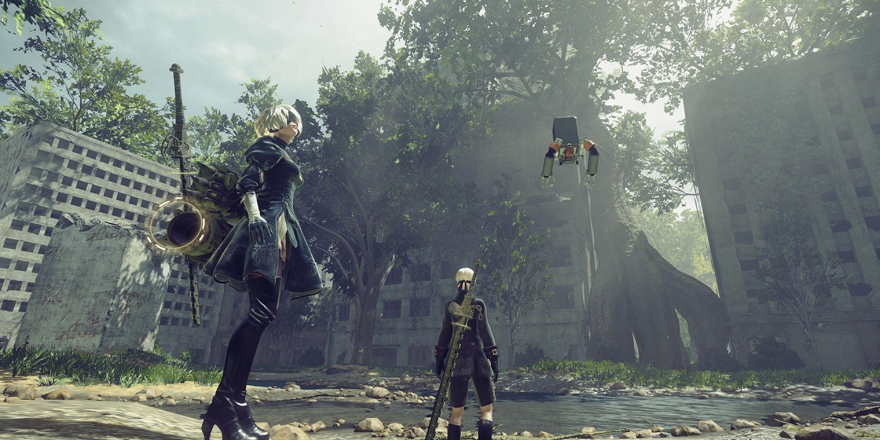 NieR: Automata arrives early 2017 on STEAM
