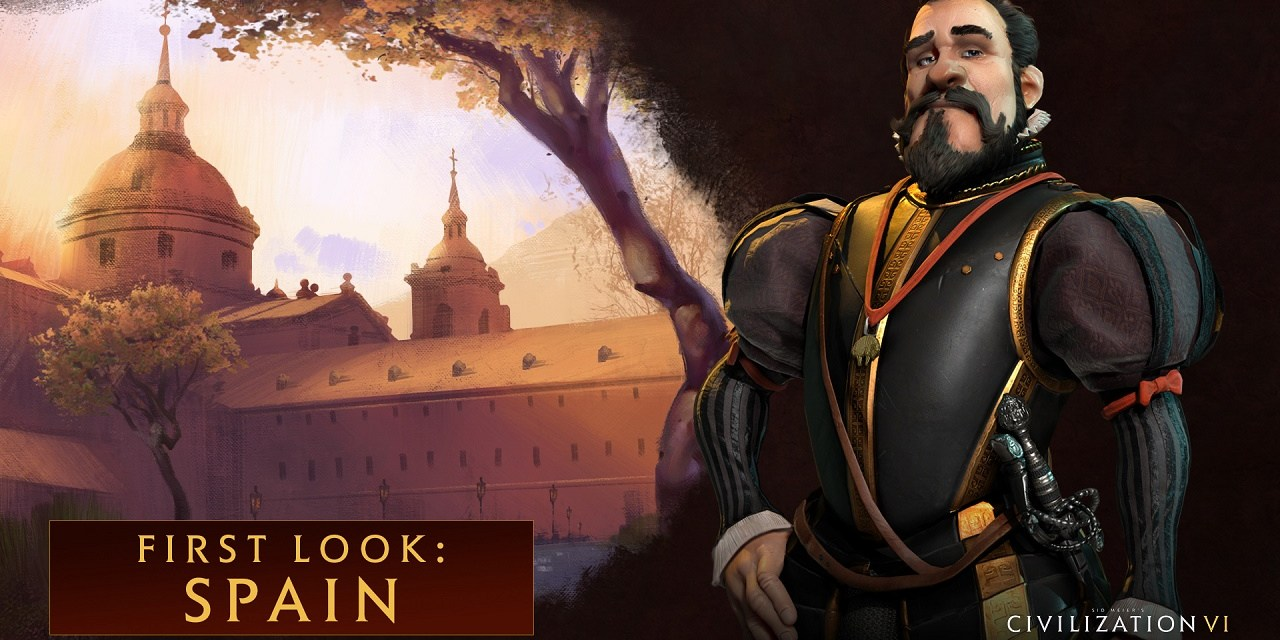 Philip II leads Spain in Civilization VI
