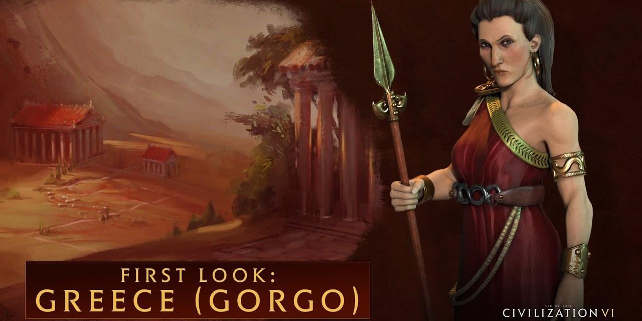 Queen Gorgo now leads Greece in Sid Meier's Civilization VI too