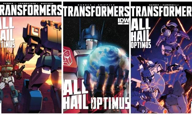 Review: Transformers Volume 10 – All Hail Optimus
