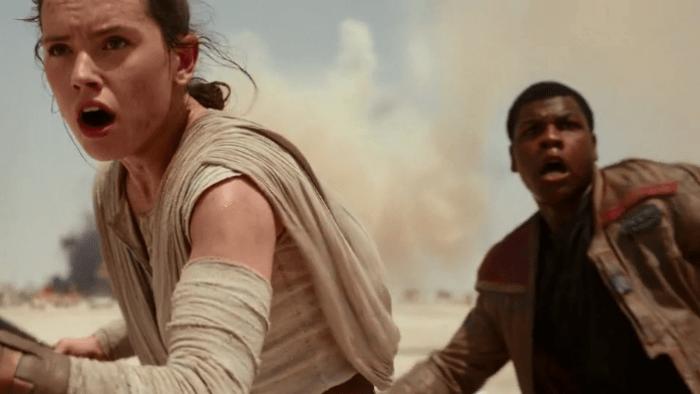 Last Jedi Rey and Finn