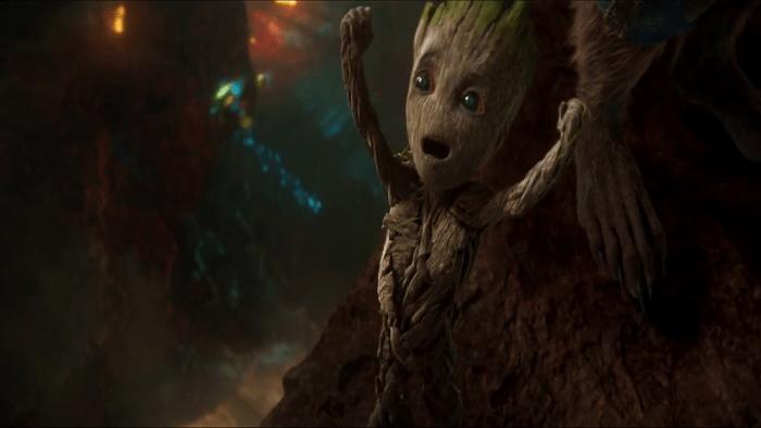 Yay Baby Groot! GOTG2