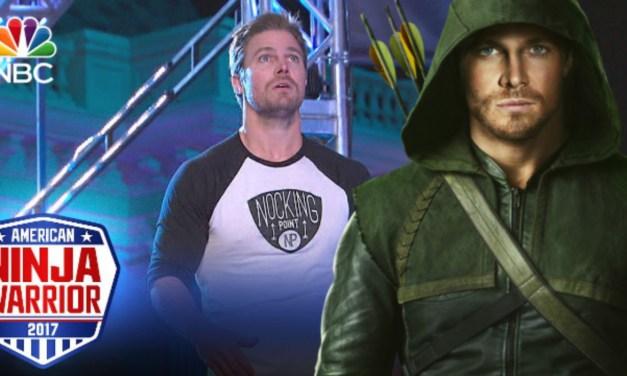 Arrow's Stephen Amell Competes On American Ninja Warrior