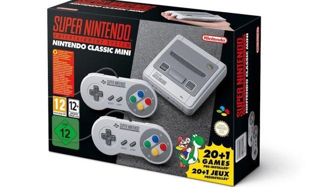 Nintendo to Release SNES Classic Mini in September