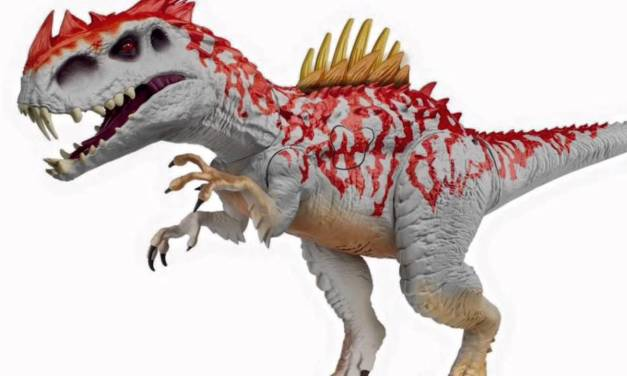 Mattel's Jurassic World 2 Toys Revealed (sort of)