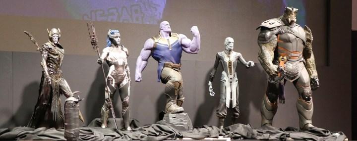 Avengers Black Order Infinity War