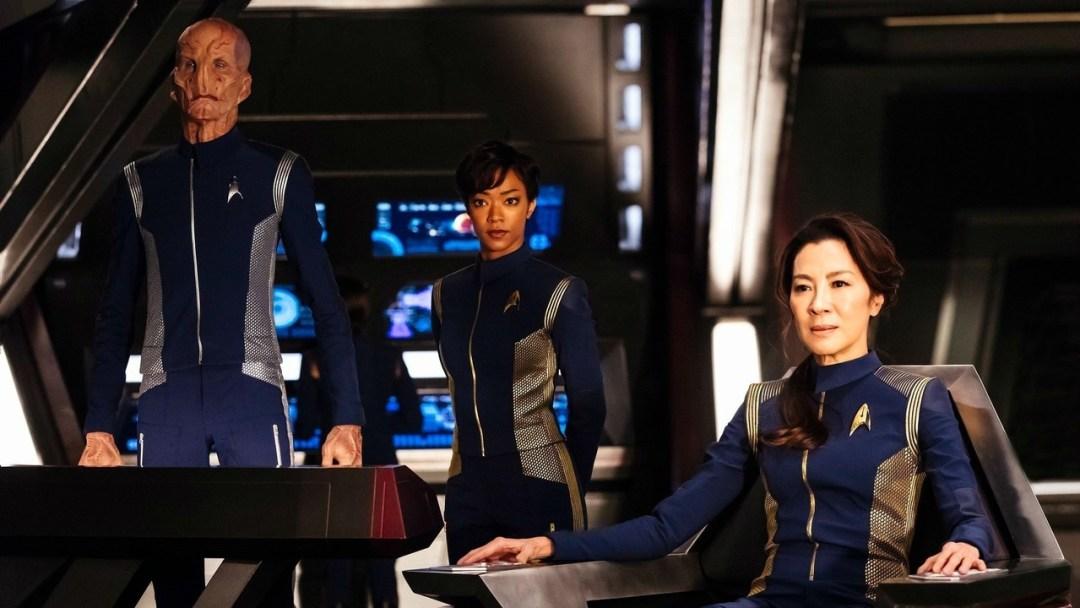 Star Trek Discovery new blue uniforms