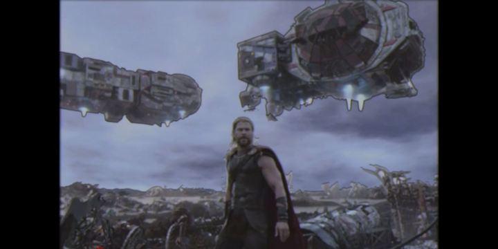 thor retro Ragnarok special effects