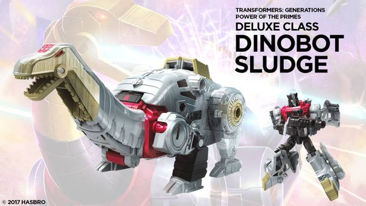 transformers potp deluxe dinobot sludge