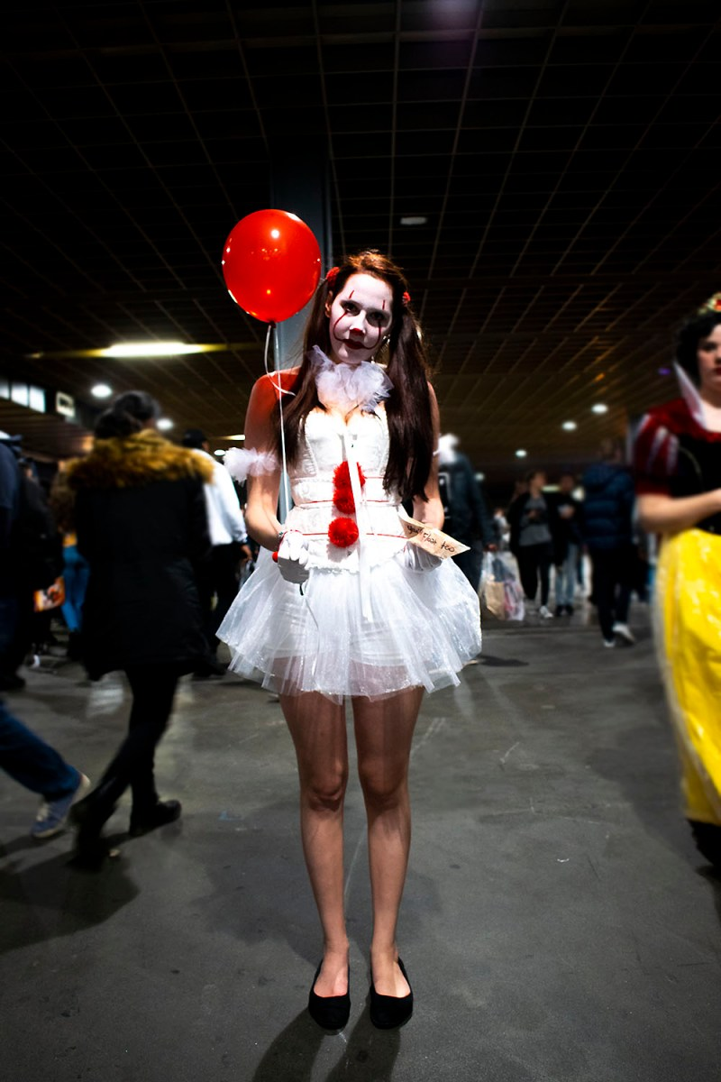 Dutch Comic Con Winter Editie 2018: Cosplay female Pennywise