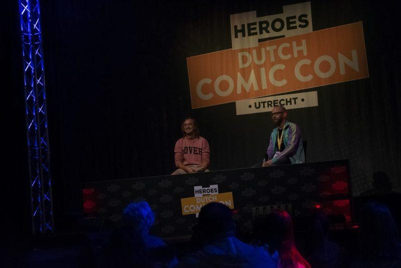 Dutch Comic Con 2019 Tom Felton Wouter Brugge