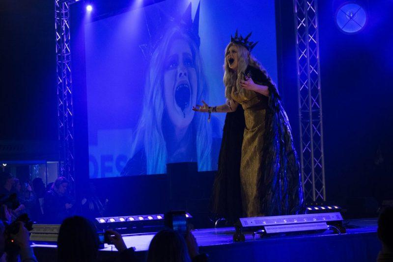 Dutch Comic Con cosplay wedstrijd evil queen sneeuwwitje