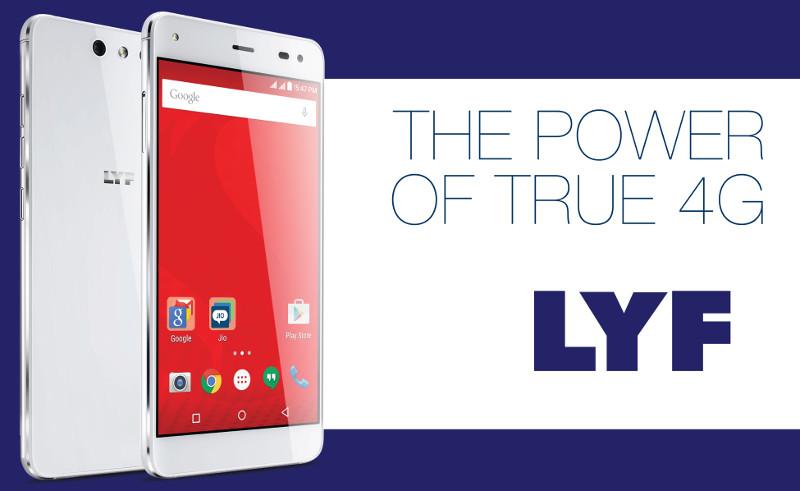 Reliance Jio LYF Smartphone on Flipkart