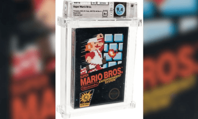 Somebody paid a record $114,000 for Super Mario Bros!