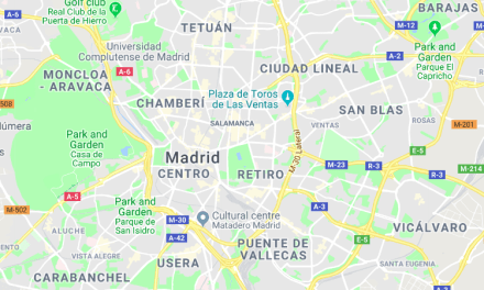 Geek Madrid Map